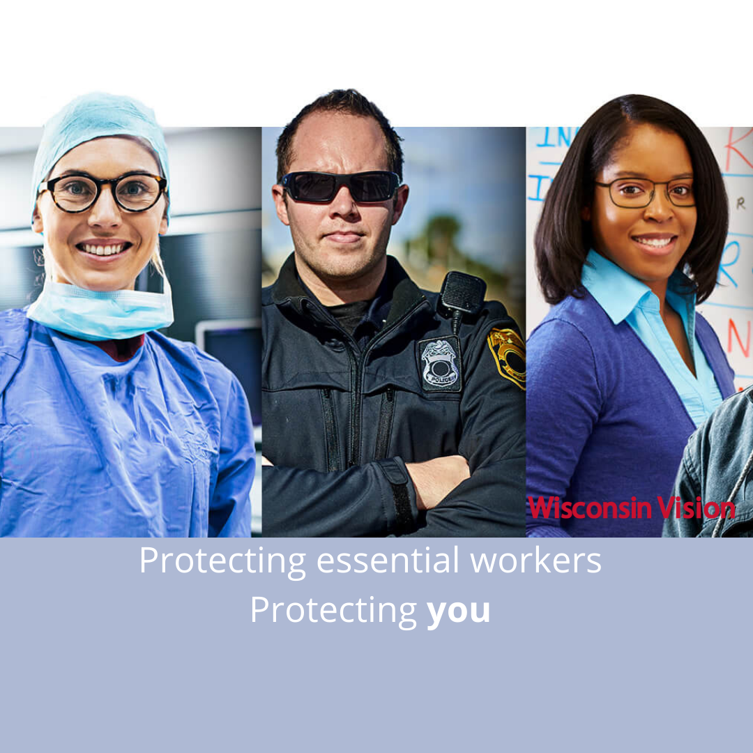 Wisconsin Vision provides quality prescription safety glasses to workers across various industries