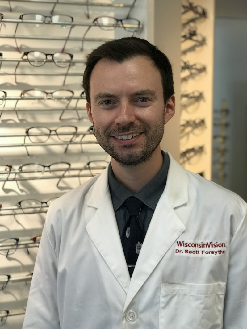Janesville and Madison WI optometrist Dr. Scott Forsythe, O.D.