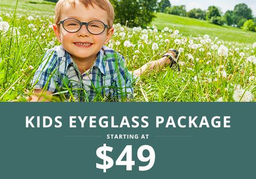 Kids Eyeglasses Package starting at $49 | Wisconsin Vision