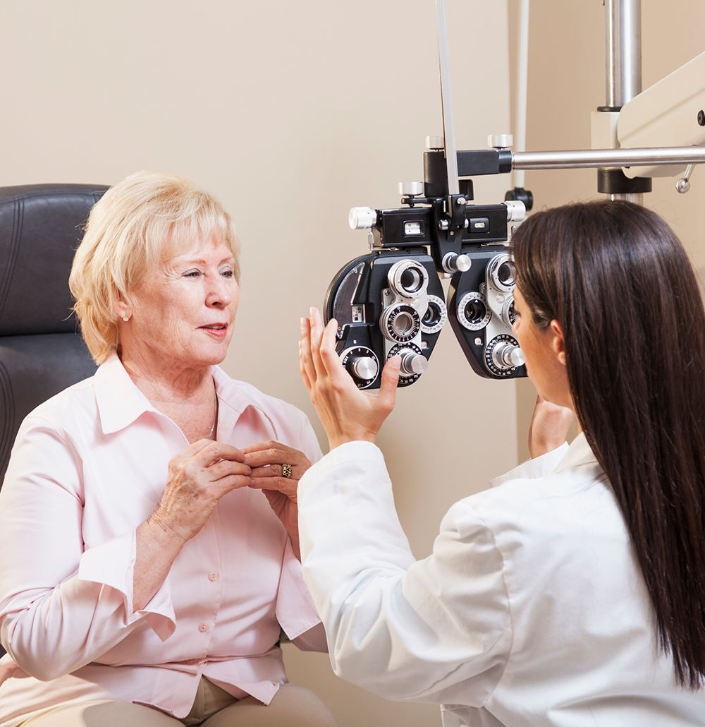 Vision care for seniors