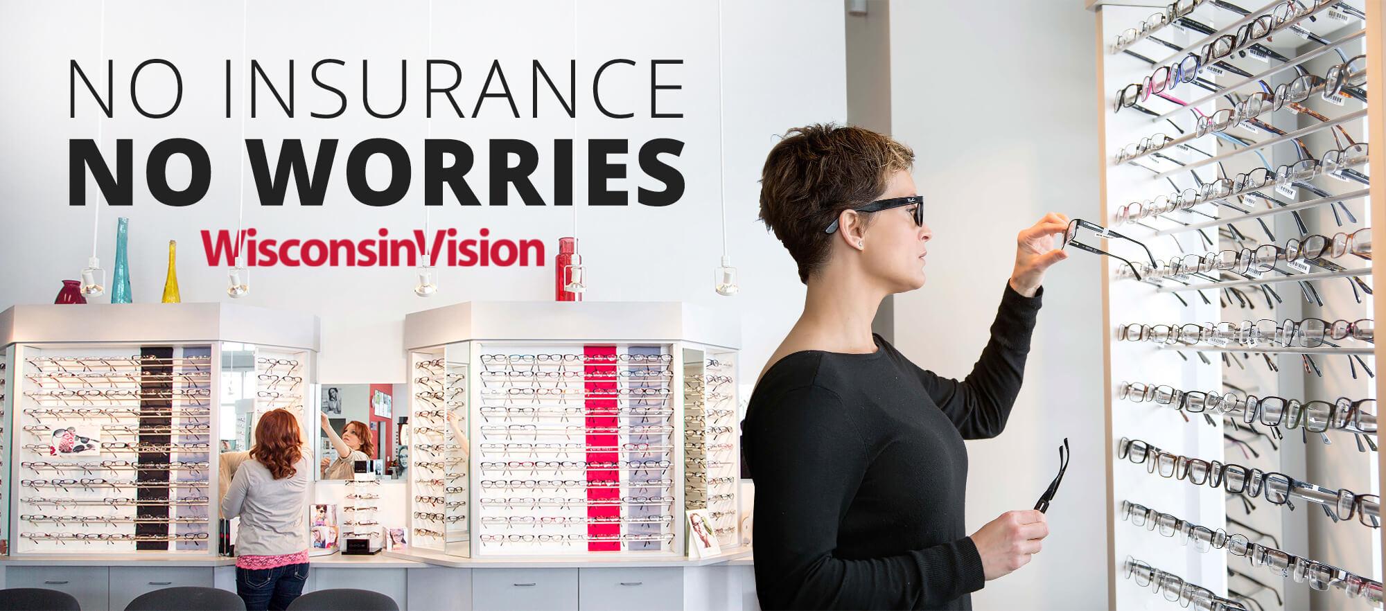 Kenosha store takes insurance: glasses, eye doctor exams